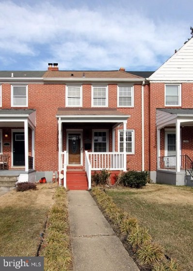 1340 Pentridge Road, Baltimore, MD 21239 - #: MDBA526656