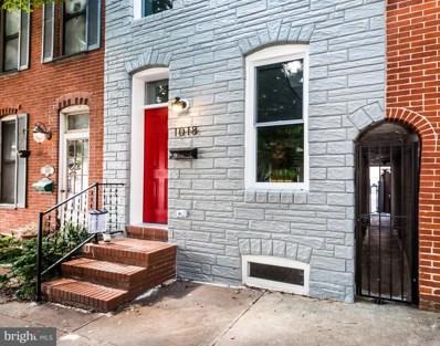 1018 S Bouldin Street, Baltimore, MD 21224 - #: MDBA526742