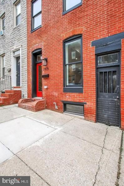 1915 E Lombard Street, Baltimore, MD 21231 - #: MDBA527012