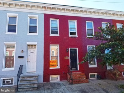 1357 Carroll Street, Baltimore, MD 21230 - #: MDBA527312