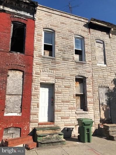 305 S Monroe Street, Baltimore, MD 21223 - #: MDBA527392