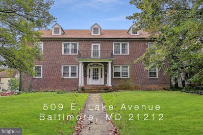 509 E Lake Avenue, Baltimore, MD 21212 - #: MDBA527434