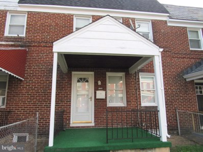 321 Mount Holly Street, Baltimore, MD 21229 - #: MDBA527796