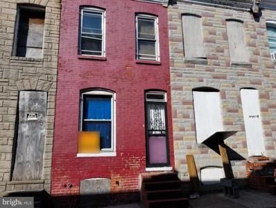 1830 N Chapel Street, Baltimore, MD 21213 - #: MDBA528096