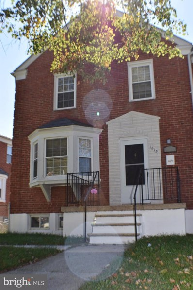 1615 Northbourne Road, Baltimore, MD 21239 - #: MDBA528180