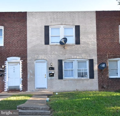 810 E Jeffrey Street, Baltimore, MD 21225 - #: MDBA528486