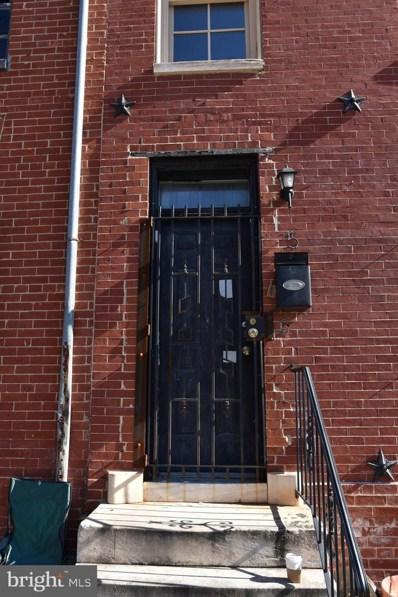 15 S Carey Street, Baltimore, MD 21223 - #: MDBA528560