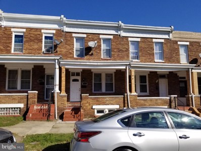 3226 Kenyon Avenue, Baltimore, MD 21213 - #: MDBA528566