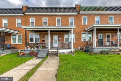 3715 Wilkens Avenue, Baltimore, MD 21229 - #: MDBA528576
