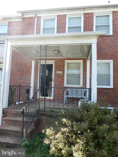 1647 Ramblewood Road, Baltimore, MD 21239 - #: MDBA528642