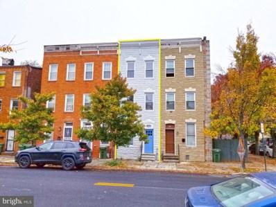 1104 W Lombard Street, Baltimore, MD 21223 - #: MDBA529042