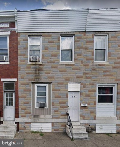 49 S Kresson Street, Baltimore, MD 21224 - #: MDBA529066