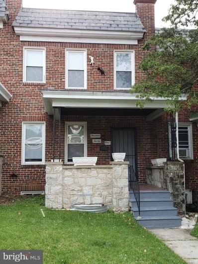 1421 N Ellamont Street, Baltimore, MD 21216 - #: MDBA529088