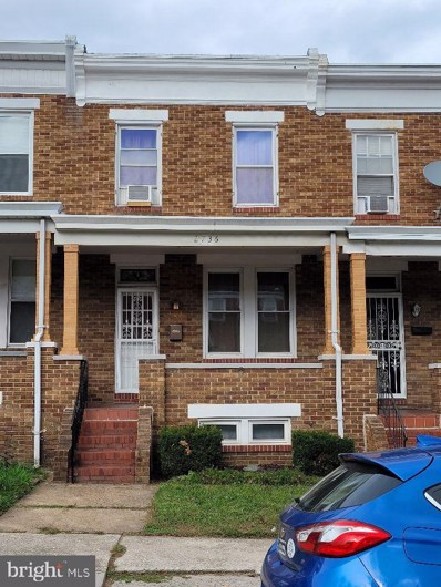 2736 Pelham Avenue, Baltimore, MD 21213 - #: MDBA529128