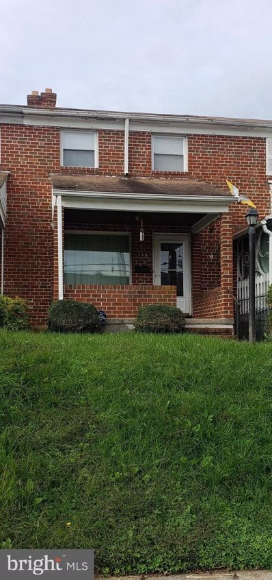 558 S Beechfield Avenue, Baltimore, MD 21229 - #: MDBA529220