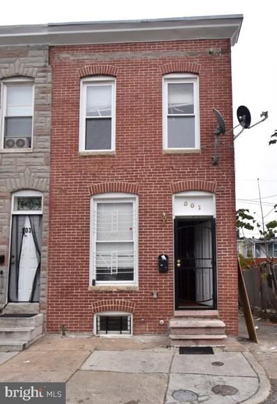 501 N Rose Street, Baltimore, MD 21205 - #: MDBA529486