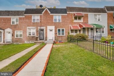 3507 W Mulberry Street, Baltimore, MD 21229 - #: MDBA529704
