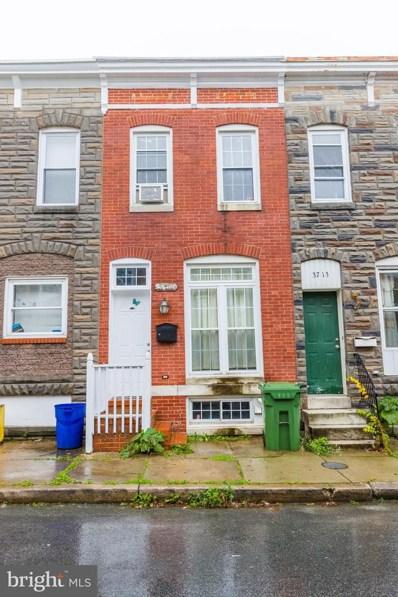 3715 Mount Pleasant Avenue, Baltimore, MD 21224 - MLS#: MDBA529910
