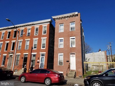 606 Cumberland Street, Baltimore, MD 21217 - MLS#: MDBA529938