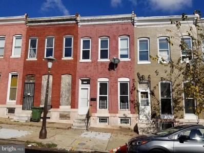 2512 W Fayette Street, Baltimore, MD 21223 - #: MDBA529940