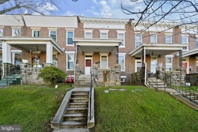 1723 Chilton Street, Baltimore, MD 21218 - #: MDBA530012