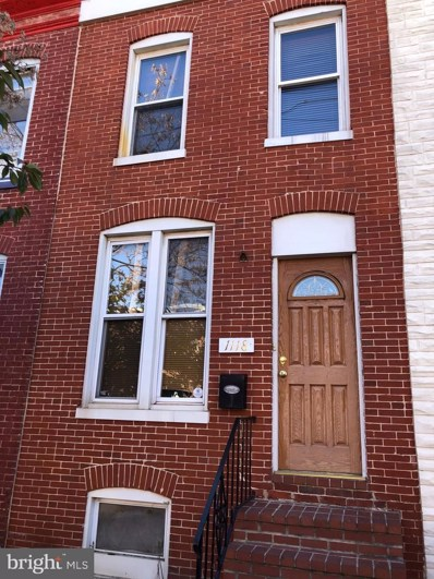 1118 Scott Street, Baltimore, MD 21230 - MLS#: MDBA530090