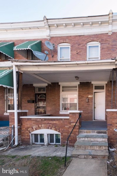 1135 Ashburton Street, Baltimore, MD 21216 - #: MDBA530128