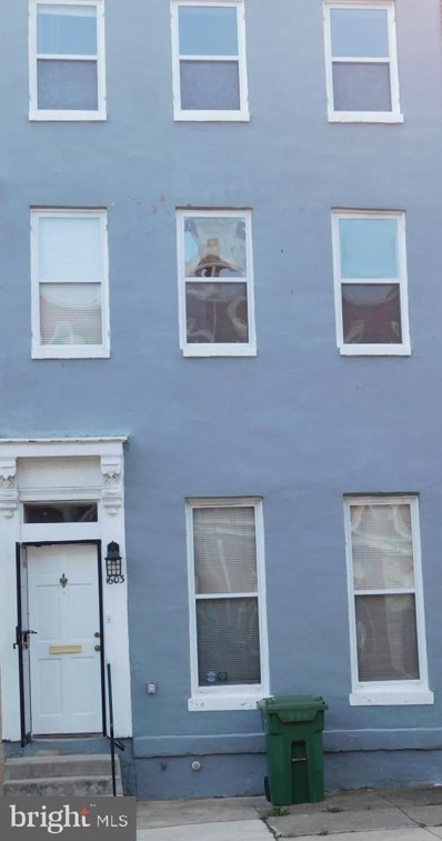 1603 W Lexington Street, Baltimore, MD 21223 - #: MDBA530316