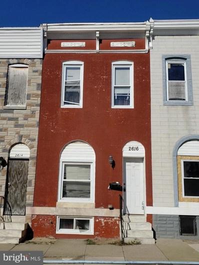 2616 E Oliver Street, Baltimore, MD 21213 - #: MDBA531864