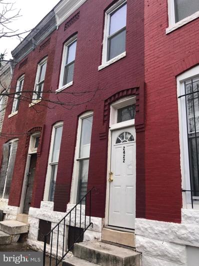 2422 Brentwood Avenue, Baltimore, MD 21218 - #: MDBA531888