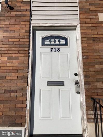 718 E North Avenue, Baltimore, MD 21202 - #: MDBA531890