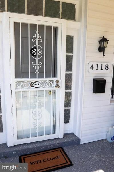 4118 Norfolk Avenue, Baltimore, MD 21216 - #: MDBA531892