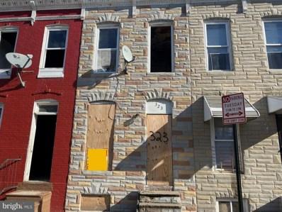 323 Furrow Street, Baltimore, MD 21223 - MLS#: MDBA532018