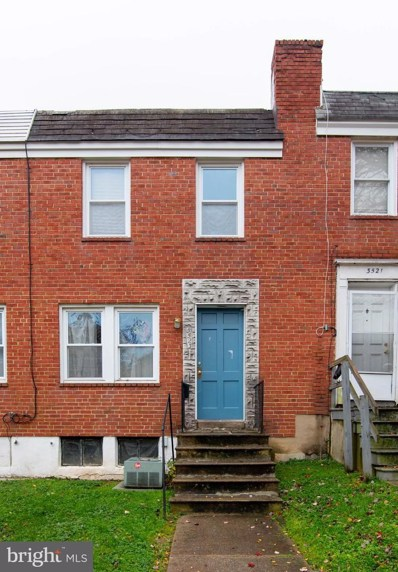3523 Woodstock Avenue, Baltimore, MD 21213 - #: MDBA532112