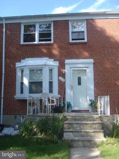 1212 Gittings Avenue, Baltimore, MD 21239 - MLS#: MDBA532278