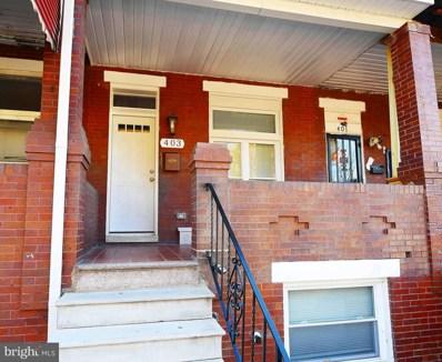 403 N Ellwood Avenue, Baltimore, MD 21224 - #: MDBA532456