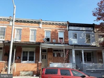 1630 E 25TH Street, Baltimore, MD 21213 - #: MDBA532616