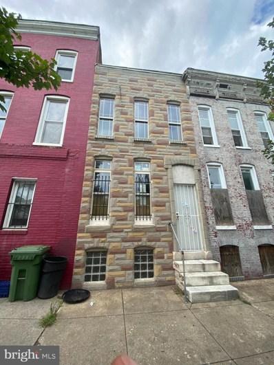1826 Wilkens Avenue, Baltimore, MD 21223 - #: MDBA532724