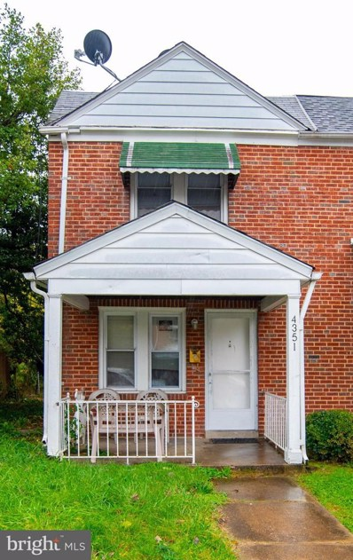 4351 Berger Avenue, Baltimore, MD 21206 - #: MDBA532858