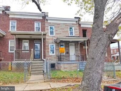 2202 W Lanvale Street, Baltimore, MD 21216 - #: MDBA532866