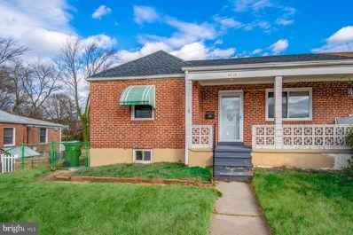 4718 Hellwig Road, Baltimore, MD 21206 - #: MDBA532942