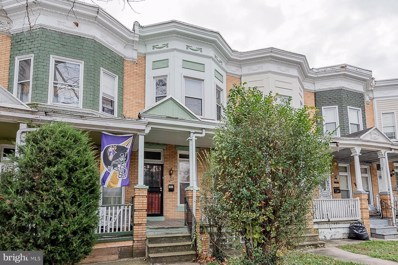 3007 Walbrook Avenue, Baltimore, MD 21216 - #: MDBA532982