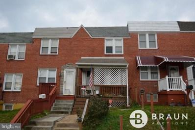 2532 Tolley Street, Baltimore, MD 21230 - #: MDBA533080