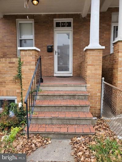 1502 N Rosedale Street N, Baltimore, MD 21216 - #: MDBA533180