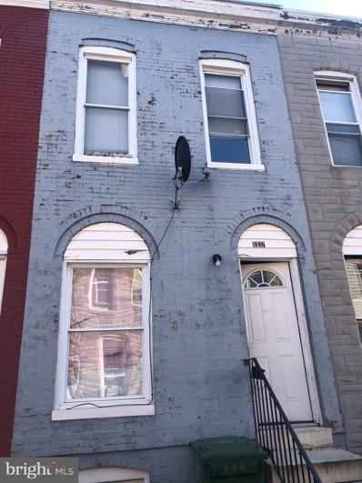 1337 Sargeant Street, Baltimore, MD 21223 - #: MDBA533204