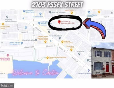 2103 Essex Street, Baltimore, MD 21231 - #: MDBA533630