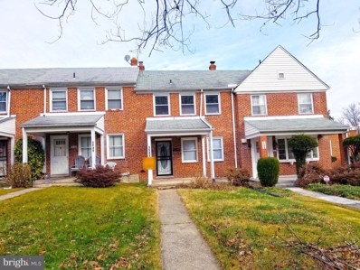 1542 E Belvedere Avenue, Baltimore, MD 21239 - #: MDBA533736