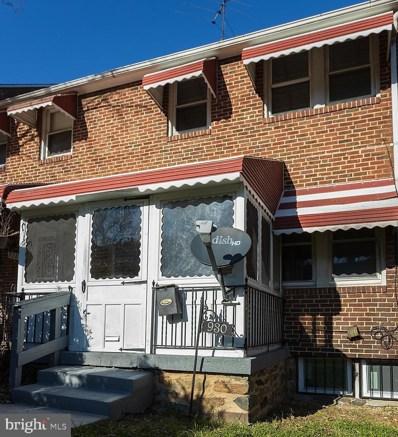930 E 41ST Street, Baltimore, MD 21218 - #: MDBA533948