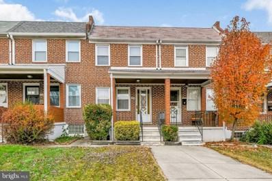 322 Hornel Street, Baltimore, MD 21224 - #: MDBA533980