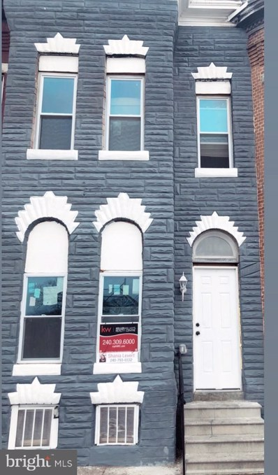 1303 Patterson Park Avenue, Baltimore, MD 21213 - #: MDBA534046